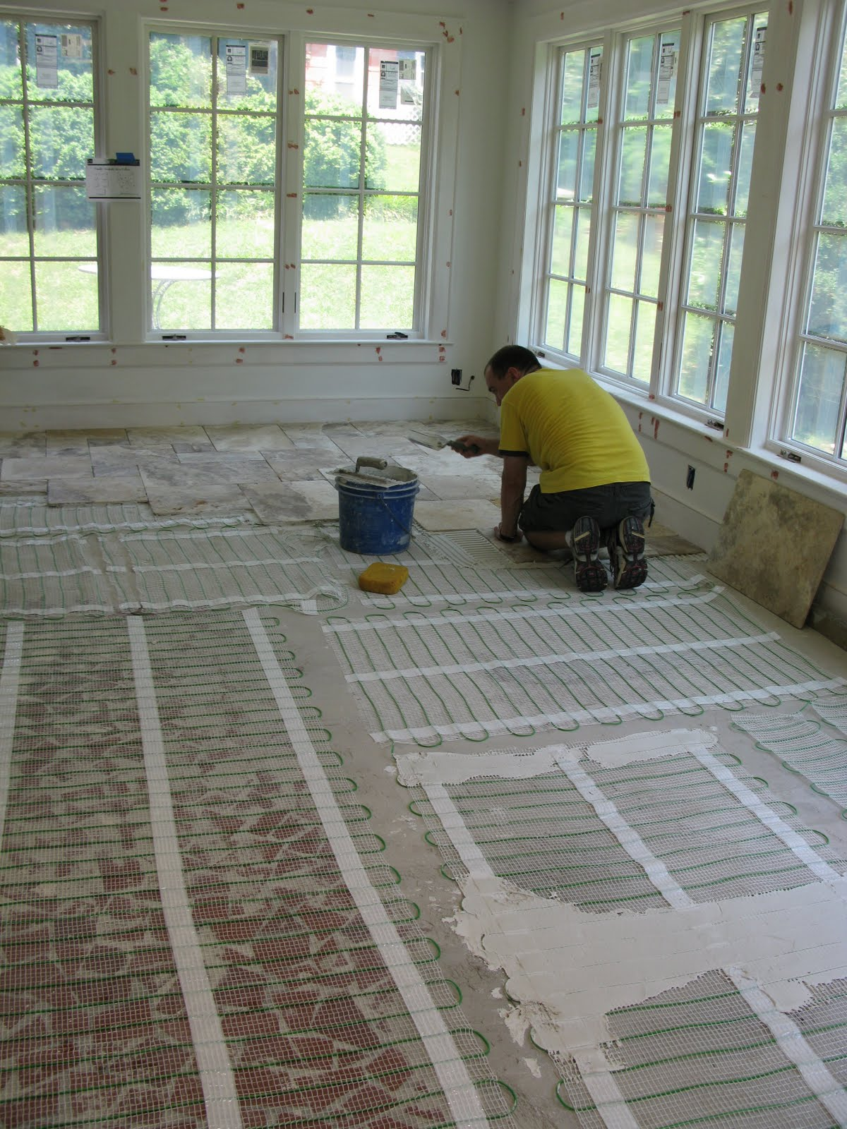 Jane S Home During Sunroom Floor