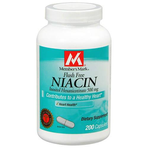 Niacin vs flush free niacin