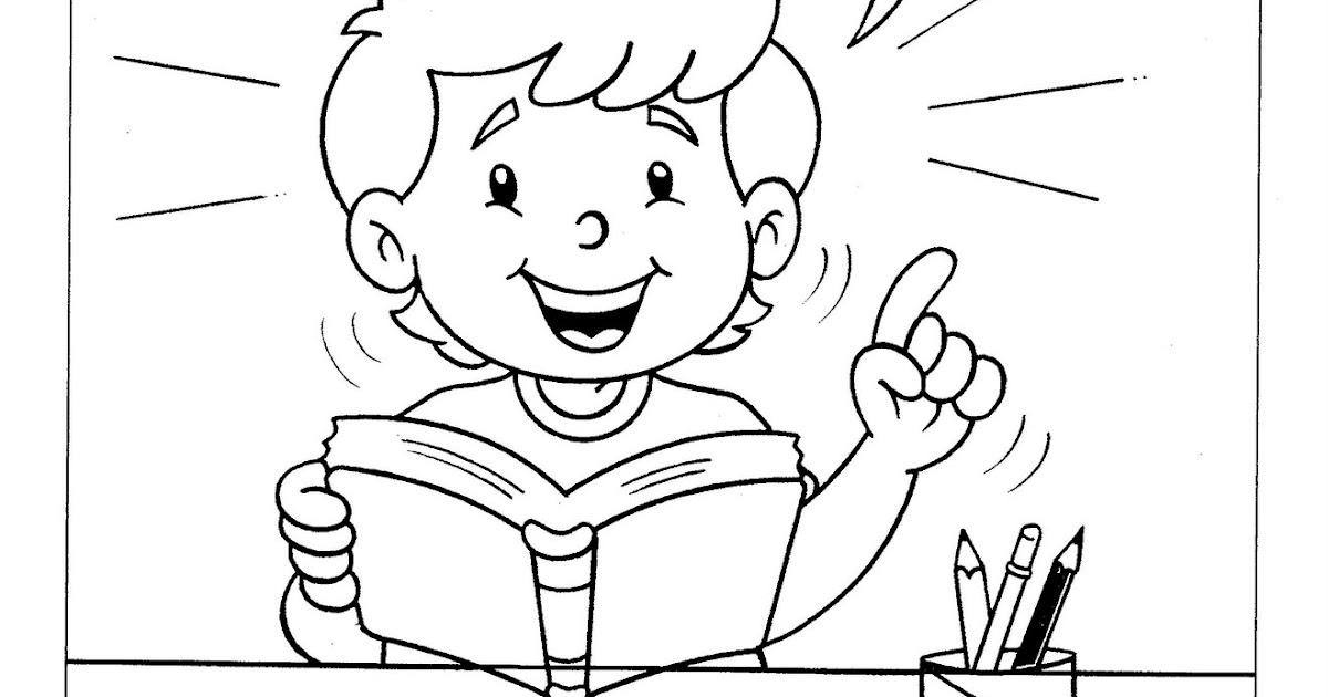 Criancas Lendo A Biblia Para Colorir Relacionado A Criancas