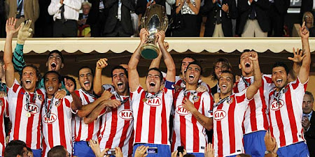 ATLETICO DE MADRID SUPERCAMPEON DE EUROPA