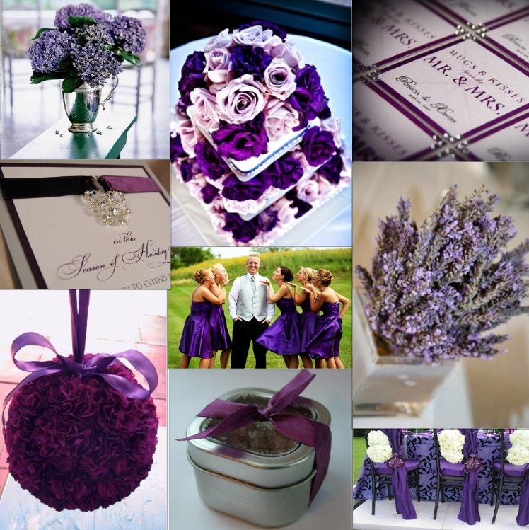 Memorable Wedding: Purple Wedding Theme: The Best Ways To