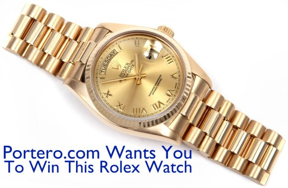 rolex giveaway disappear here amazing free rolex giveaway on portero com 1078