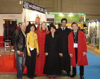 AbbyShot at the Tokyo International Anime Fair 2007