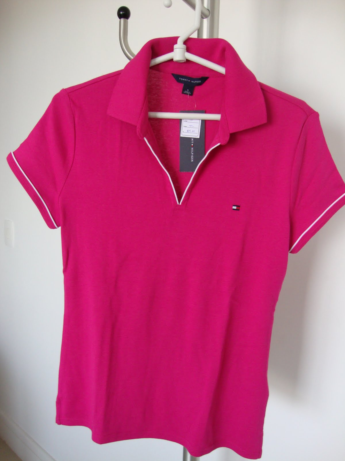 imports sale  Polo Feminina - Tommy hilfiger 7aed1e2d88d60
