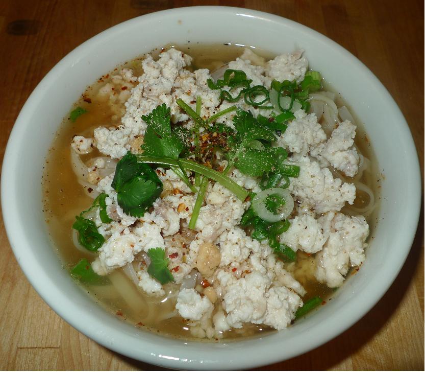 Thai Kitchen Chester: Amporn's Thai Kitchen: Thai Small Rice Noodle Soup With