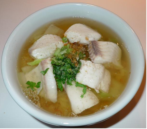 Thai Kitchen Chester: Amporn's Thai Kitchen: Thai Rice Soup With Tilapia