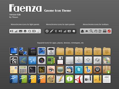 Faenza icon theme