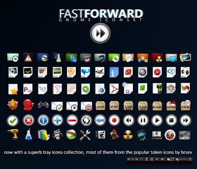 fast forward icon theme