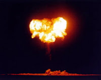 CHARLESTON: Test:Charleston; Date:September 28 1957; Operation:Plumbbob; Site:Nevada Test Site (NTS), Area 9; Detonation:Baloon, altitude - 1500ft; Yield:12kt; Type:Fission/Fusion