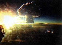 TZAR BOMBA-FLASH: Name:Tzar Bomba; Date:October 30, 1961; Site:Novaya Zemlya; Detonation:Airburst; Yield 50Mgt; Type:Fission/Fusion