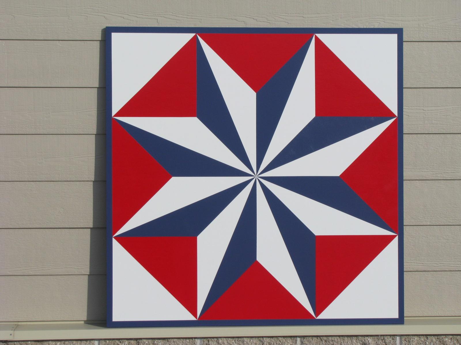 Patriotic Barn Quilt Designs