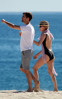 Diane Kruger and Joshua Jackson vacationing in Cabo San Lucas