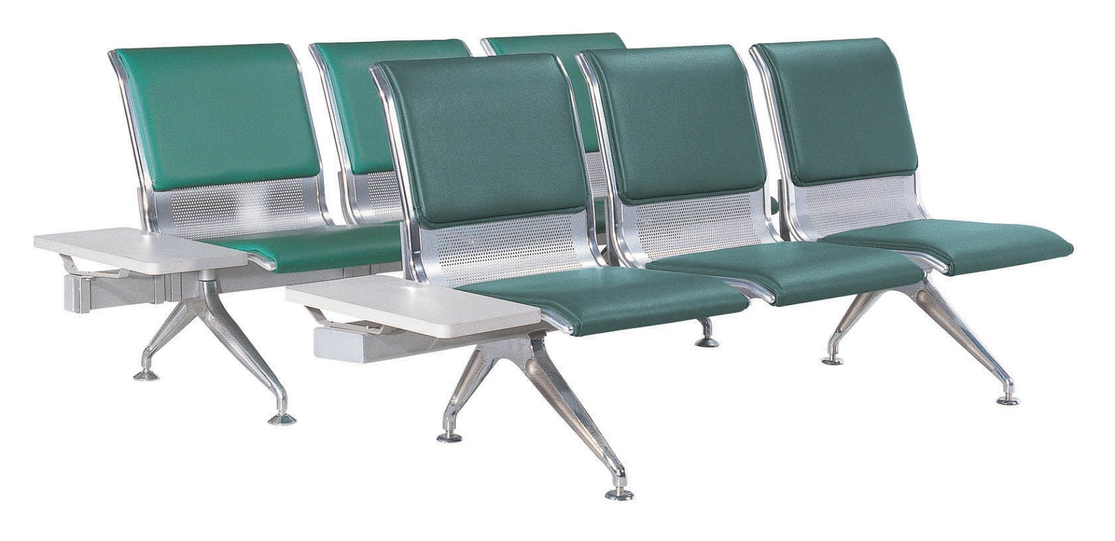 steel airport chair mat for carpet hospital bank station waiting room