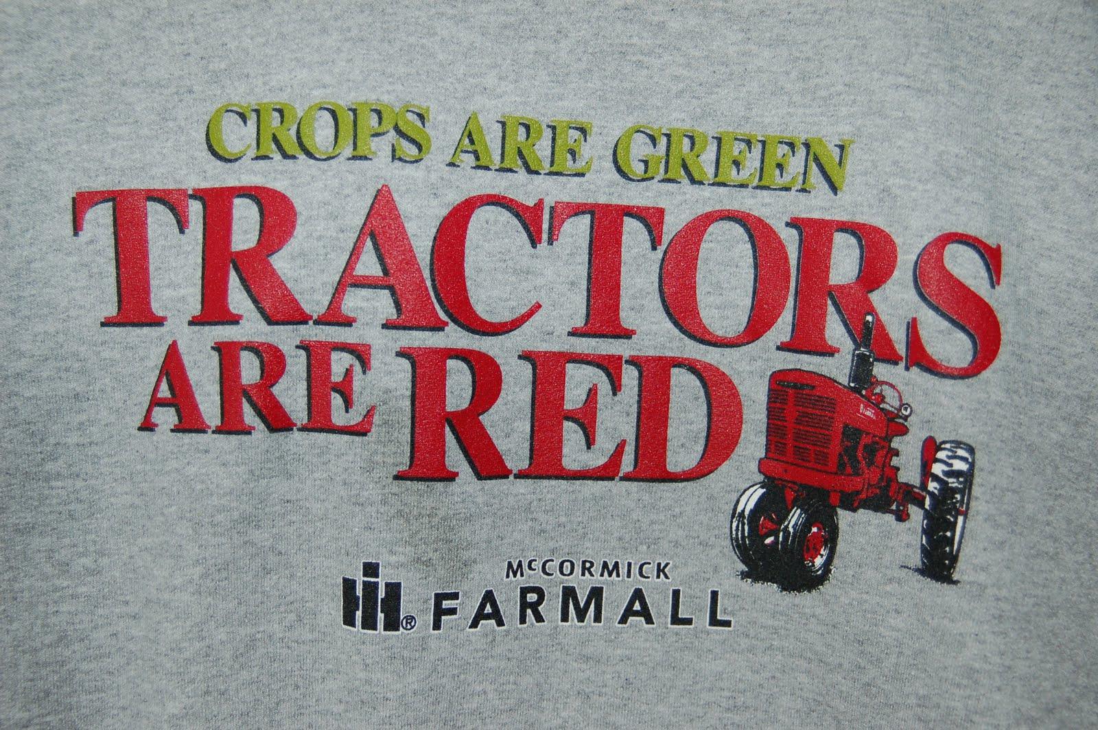 Farm Girl: Farmall Vs. John Deere