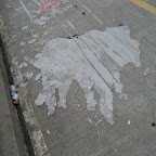 Mating Beast Cave Painting - On the Williamsburg Bridge.