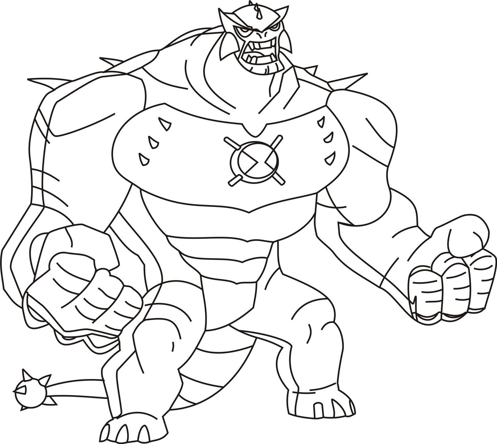 Ben 10 ultimate alien colouring pictures