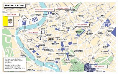 kart over roma Småpikene på rundtur i Europa kart over roma