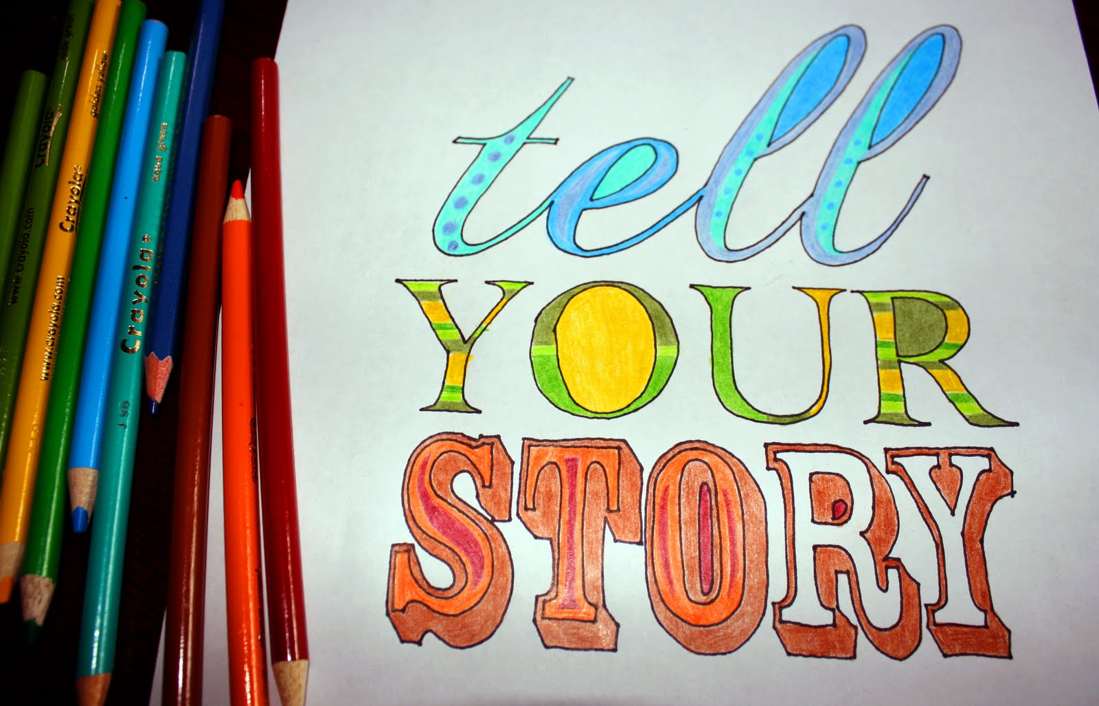 Sweet Inspiration Telling Your Story