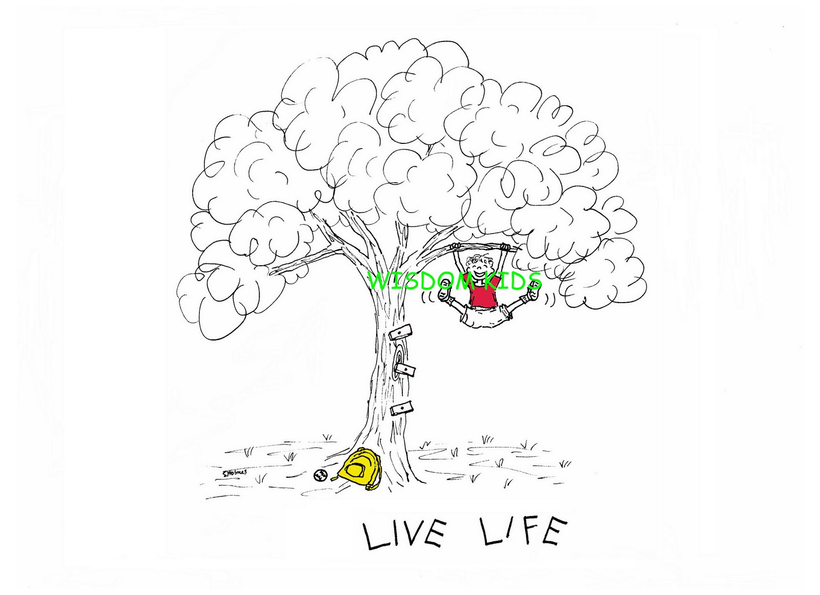 Wisdom Kids Inspirational Illustrations Special T Shirt