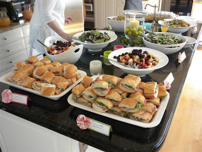 Wedding Shower On Everyday Delights My Bridal Food