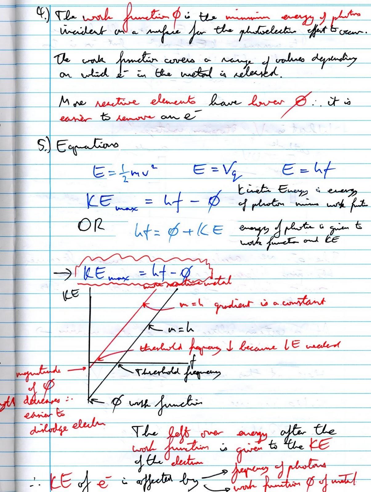 Physic notes Custom paper Sample - November 2019