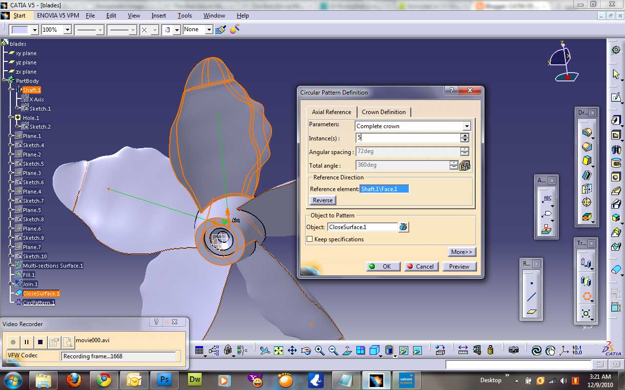 Catia V5 Surface Modeling Tutorial Pdf