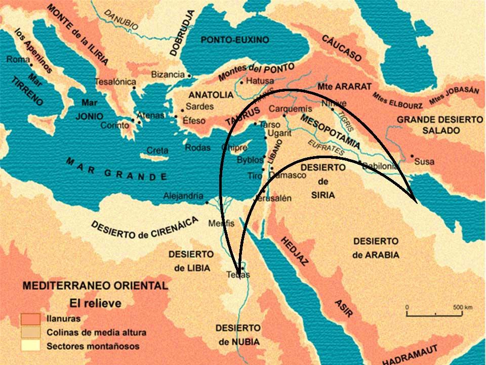 57e2ada345f CERCANO ORIENTE  Comprende a una extensa región que abarca parte de Asia y  el noreste de África. Limita al Norte con las montañas de Armenia.