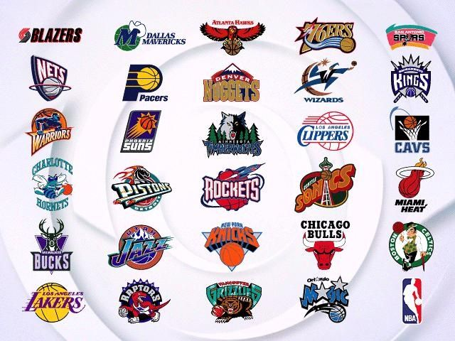 All NBA Basketball Teams Logos