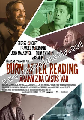 Aramızda Casus Var - Burn After Reading Film izle