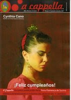 """a cappella"" Revista Peña F. Sucina"