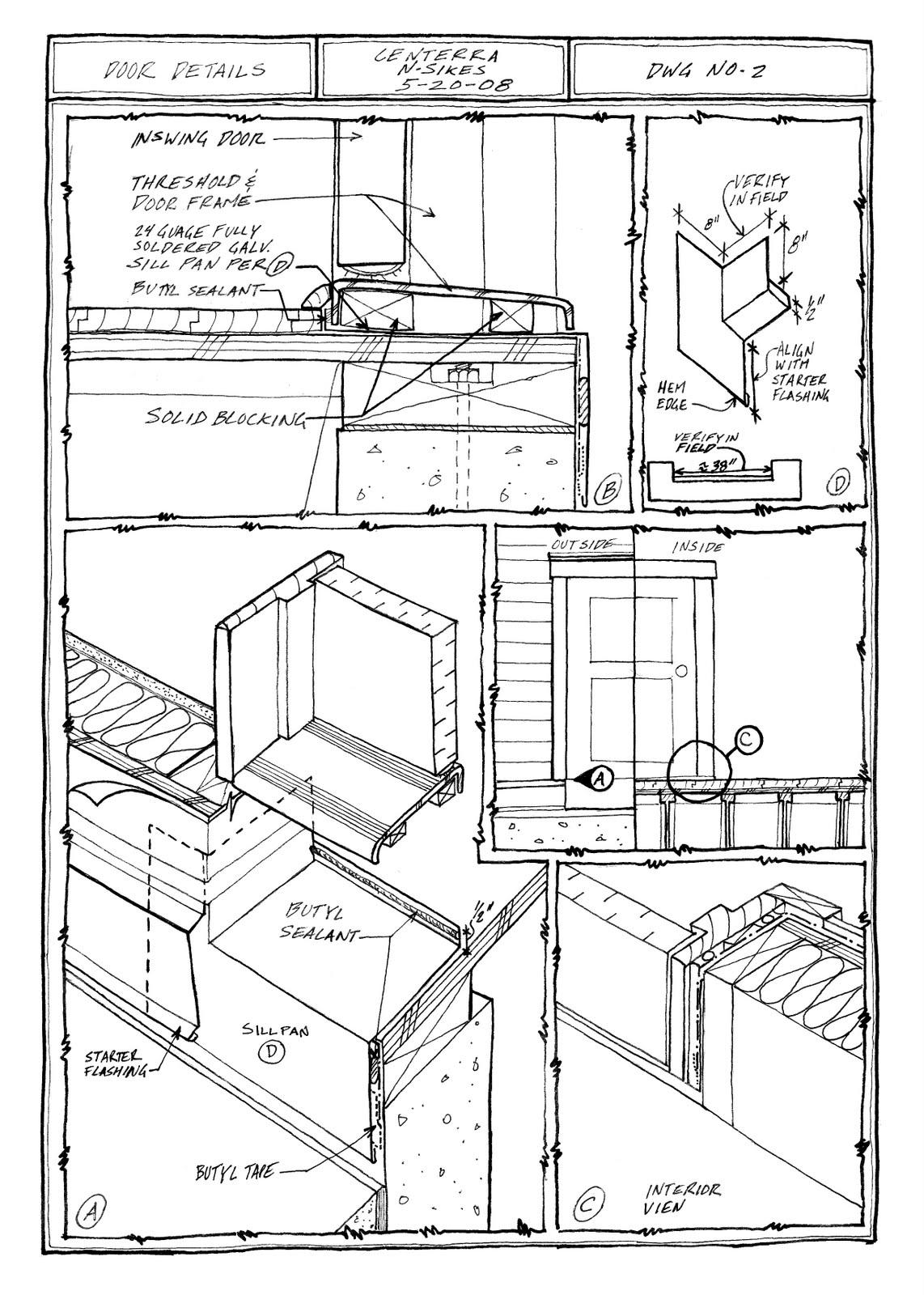 Building Envelope Blog Door Details At Sliding Glass And