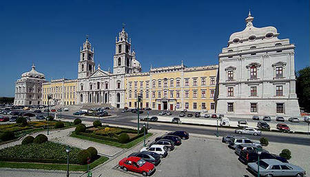 The monastery of Mafra