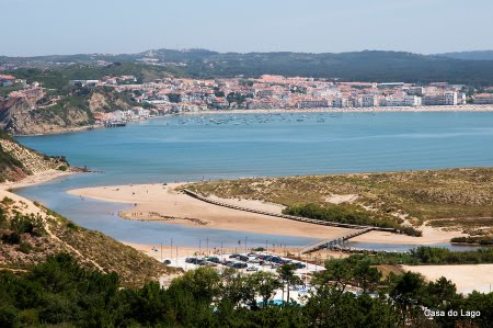 The beach of Sao Martinho do Porto