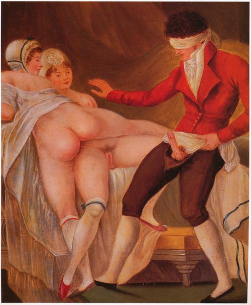 В мировой и секс живописи эротика