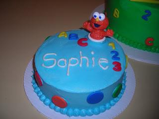 Pattycakes Sesame Street 1st Birthday Cake