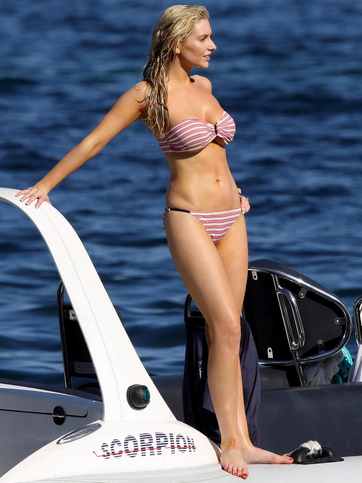 celebritys: Gemma Merna sexy breast and arse in hot bikini
