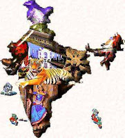 India coloured image for PT education blog Sandeep Manudhane SM sir