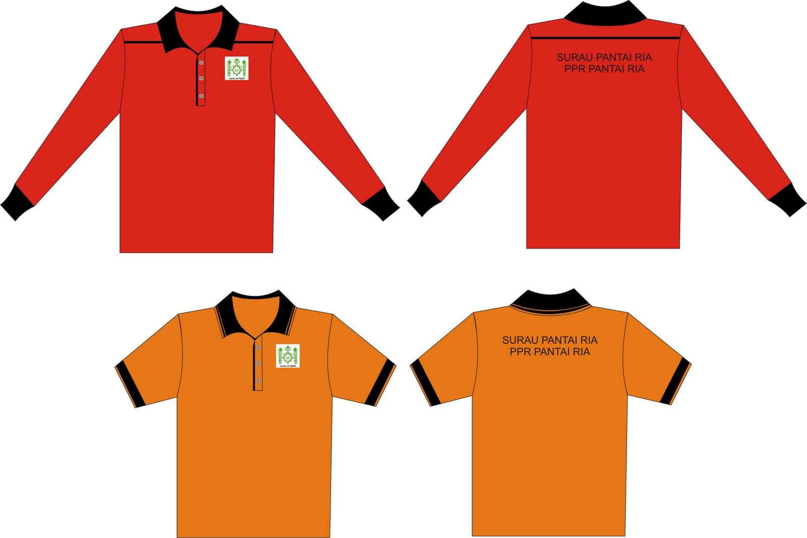 Contoh desain t shirt kelas - Design T Shirt Kelas Terbaru Tempahan Baju Rasmi Surau Dibuka