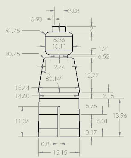 Snively: LEGO Minifig Dimensions