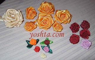 Этой заметкой начну серию мастер-классов по изготовлениею цветов из лент.