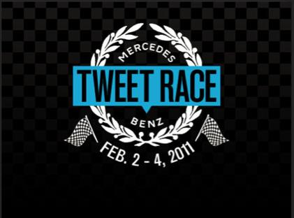 Mercedes-Benz Tweet Race: la prima corsa su strada alimentata a tweet