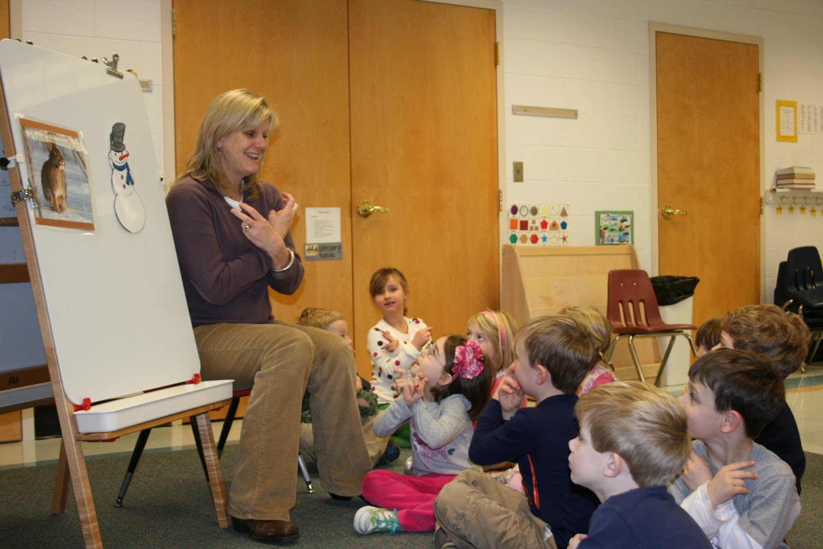 Sign Language In The Preschool Classroom Teaching A Song