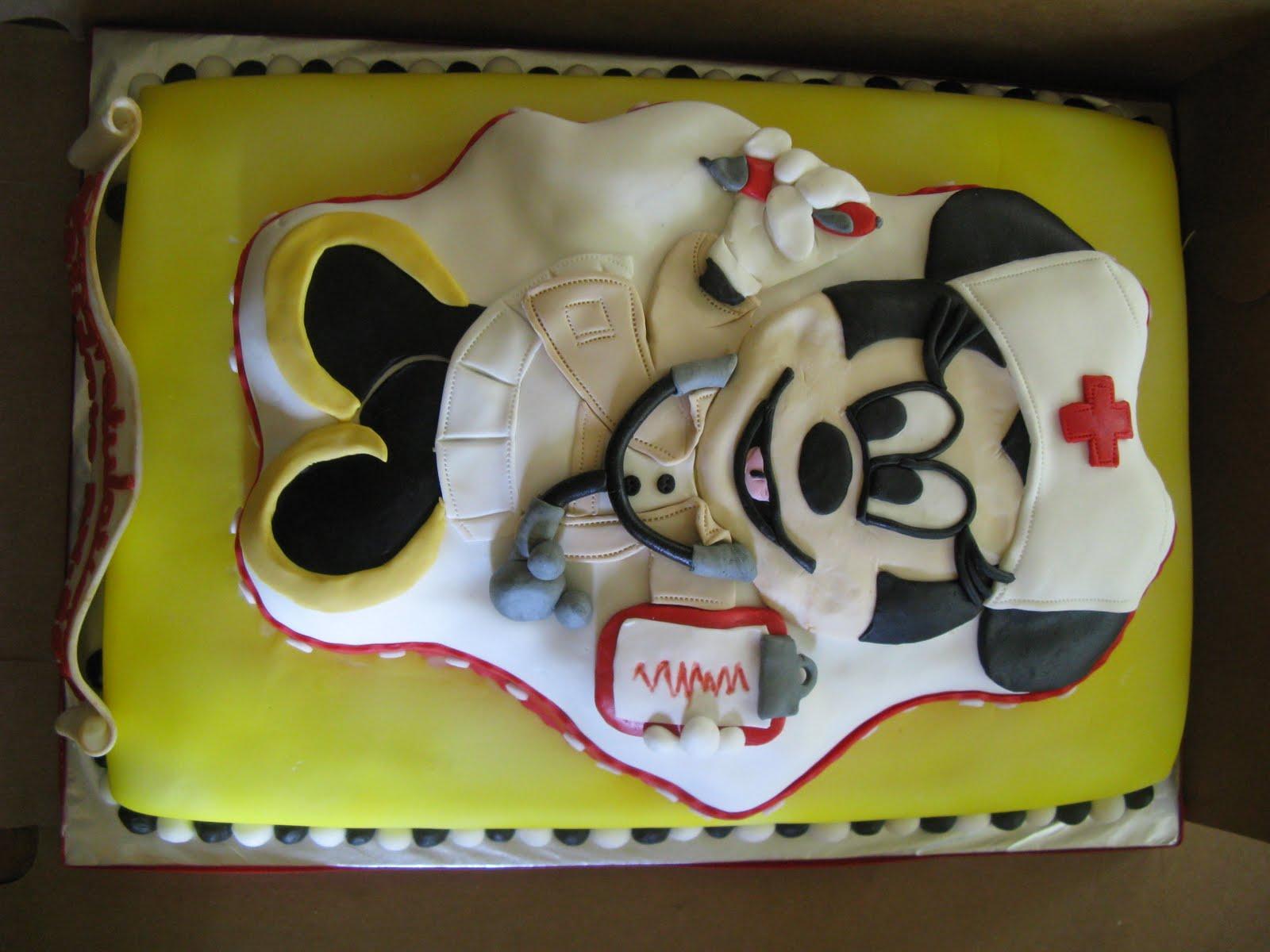 Sweet Dreams Cake Design Minnie Mouse Nurse