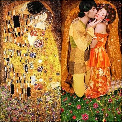 Girl To Girl Kiss Wallpaper Fashion Food Film Fashion Vs Gustav Klimt
