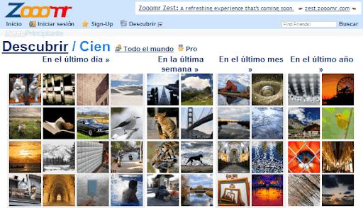 Compartir Fotografías en Línea - Zooomr - menteprincipiante.com