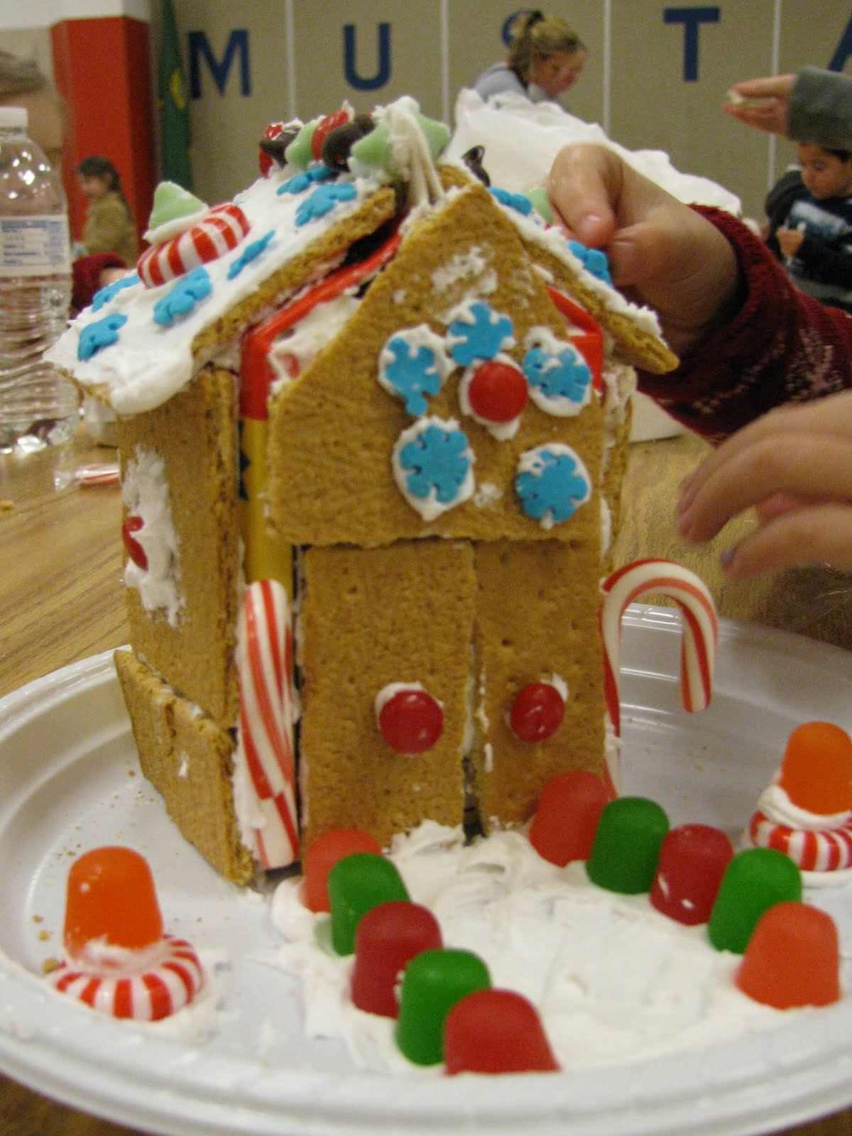 My Crazy Life Gingerbread House Making At Kai S Preschool