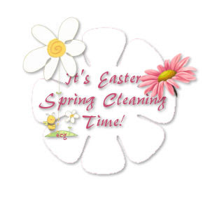 Easter Spring Cleaning
