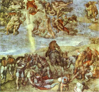 Conversion of St. Paul by Michelangelo