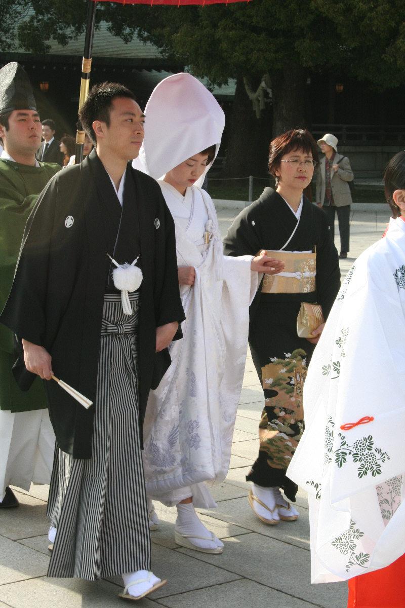 Wedding Destinations: Kimono Wedding Dress