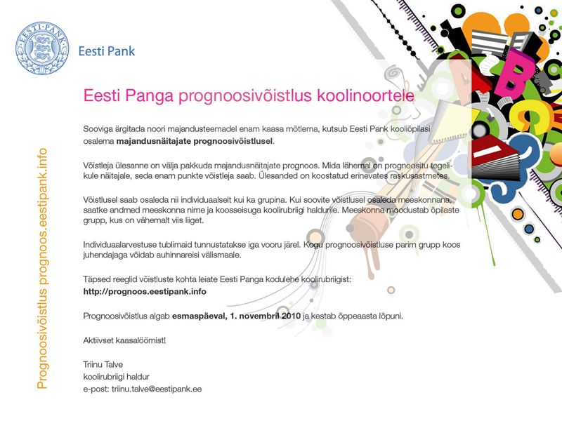 e53a165f660 Huvitööalast infot... Kolga koolist ja koolile...: 2010